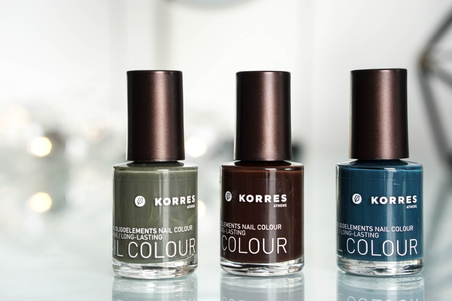 korres nail polish set