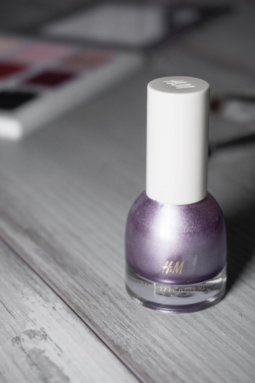 hm metallic lavender